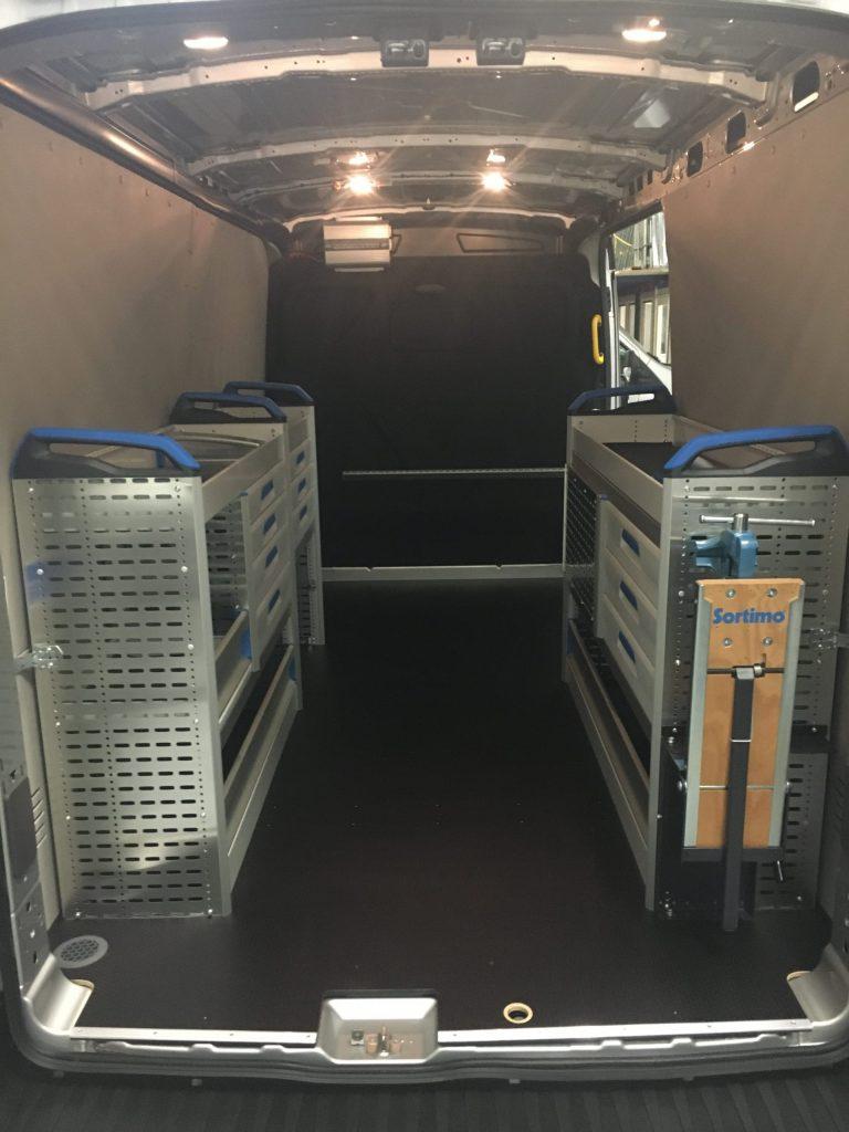 Standaard bedrijfswagen verlichting